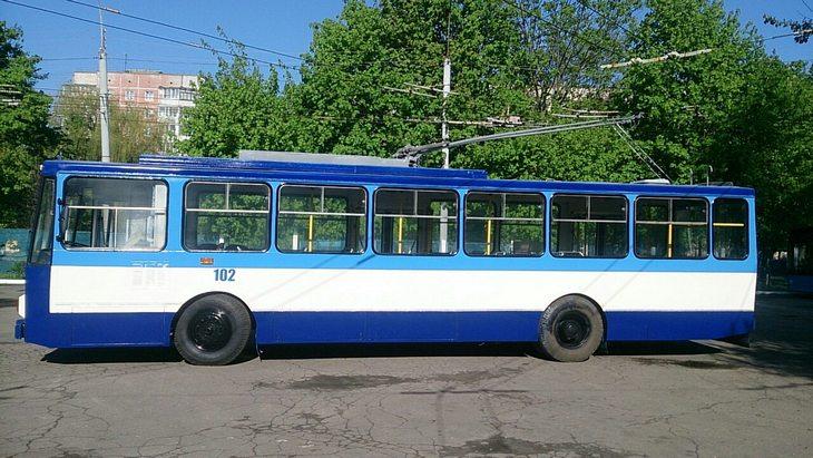 У Рівному вийшов у рейс відремонтований тролейбус